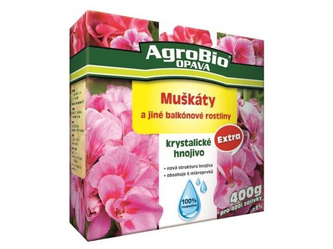 Krystalické hnojivo EXTRA - Muškáty (400g)