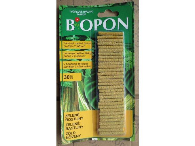 Biopon - tyčinky zelené rostliny (30ks)