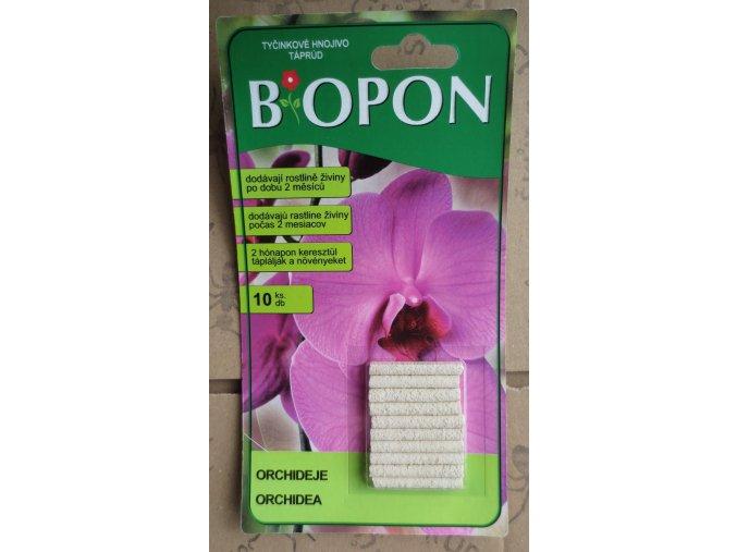 Biopon - tyčinky pro orchideje (10ks)