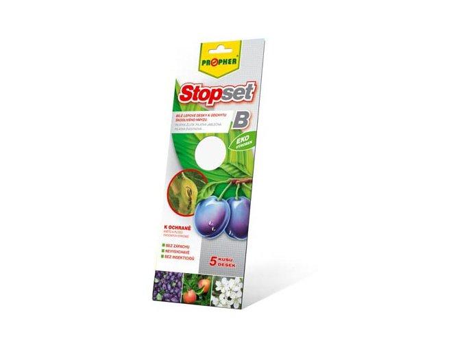StopSET bílé lepové desky (5ks)