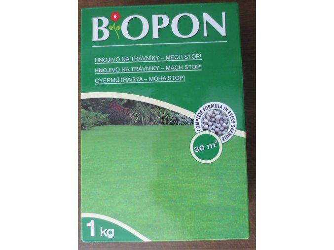 Biopon hnojivo na trávník s mechem (1kg)