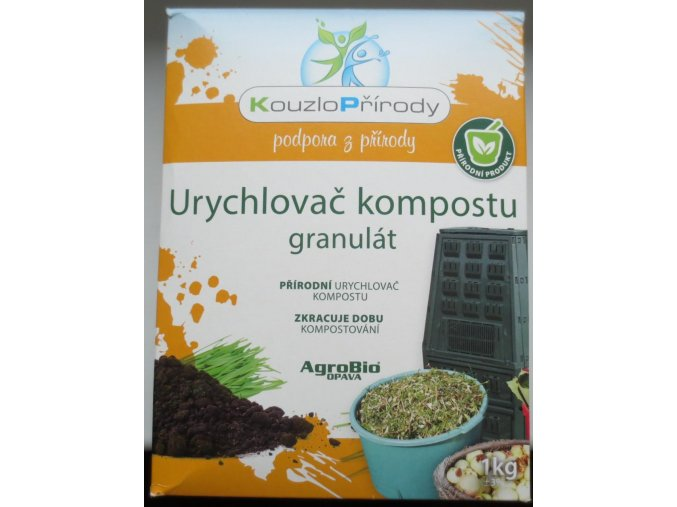 KP Urychlovač kompostu granulát (1kg)