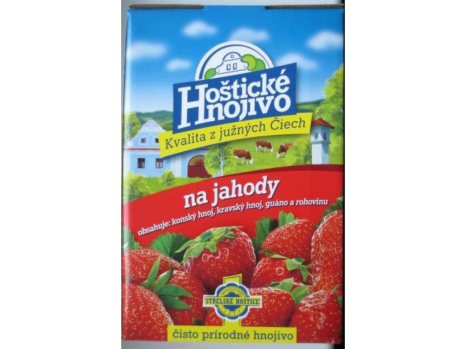 Hoštické hnojivo na jahody s guánem (1kg)