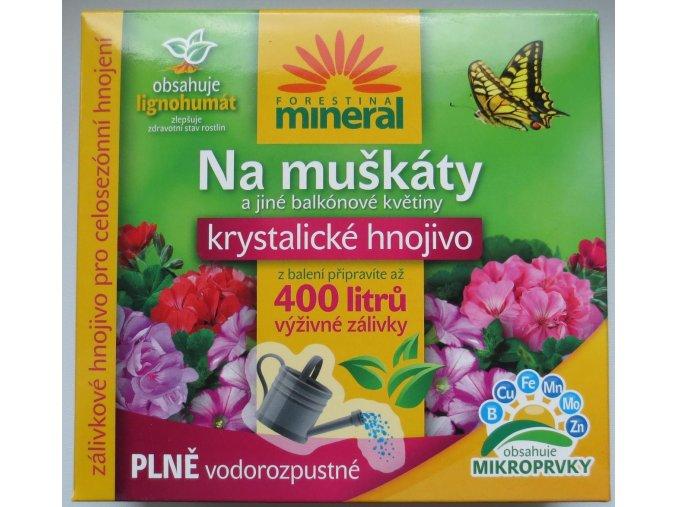 Krystalické hnojivo muškát s lignohumátem (400g)