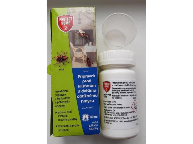 Protect Home - proti klíšťatům 50ml