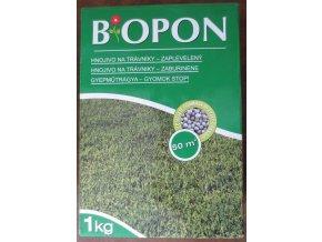 Biopon hnojivo na zaplevelený trávník (1kg)
