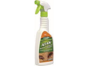 ATAK sprej proti štěnicím a švábům (400ml)