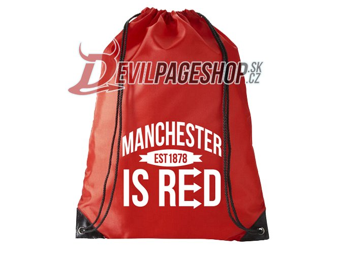 Batoh Manchester is Red red white