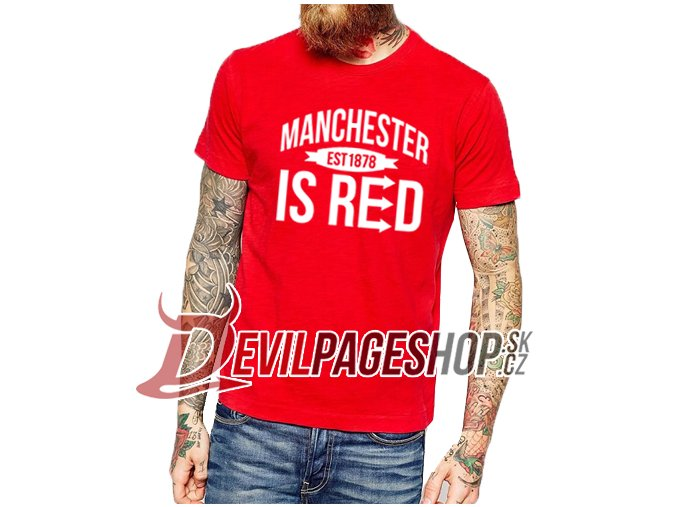 Manchester is Red tshirt