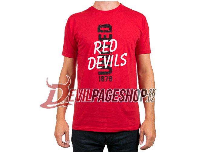 Tričko Red Devils United 1878