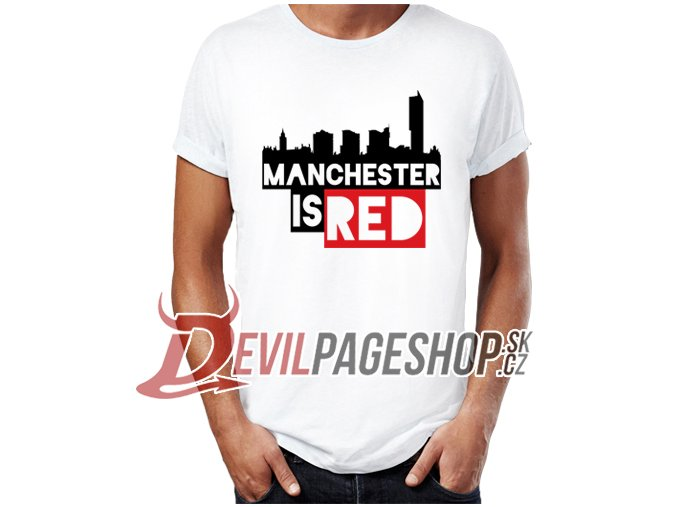Manchester is Red city tshirt