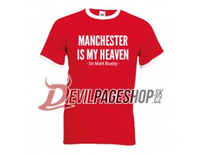 Manchester is my heaven tshirt1