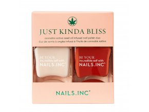 NAILS.INC - Just kinda bliss  DUO PODKLADOVÁ BÁZE & LAK NA NEHTY