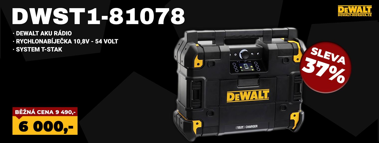 DWST1-81078 DEWALT AKU RÁDIO