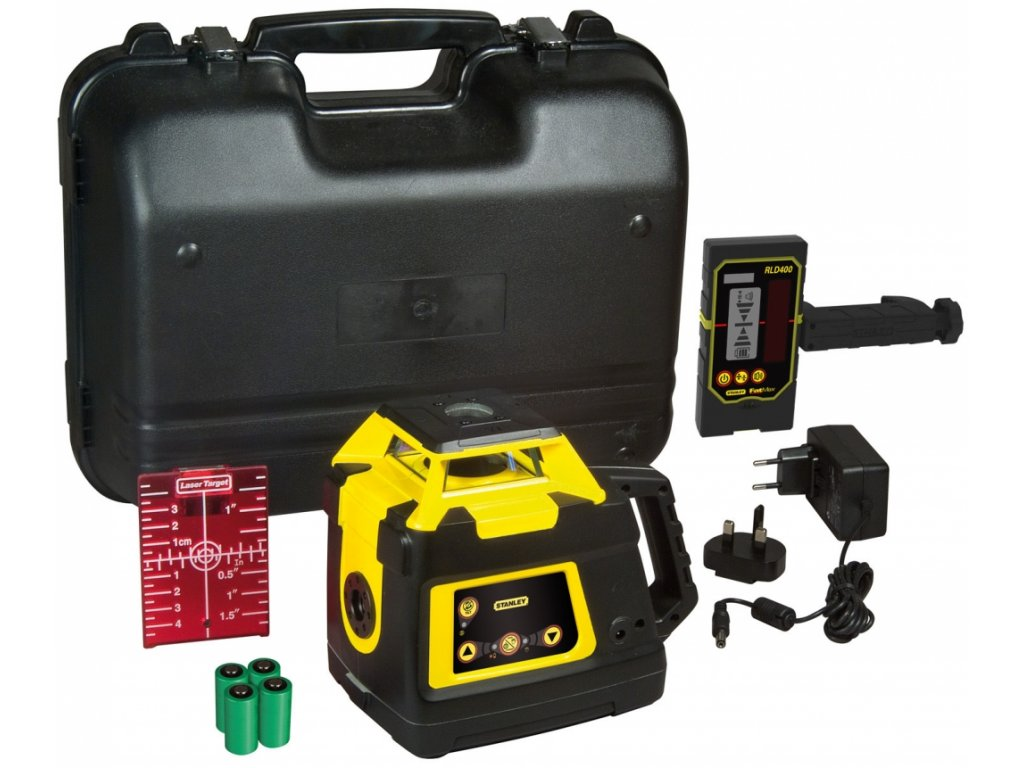 743(3) 1 77 496 stanley fatmax rl hw cerveny rotacni laser