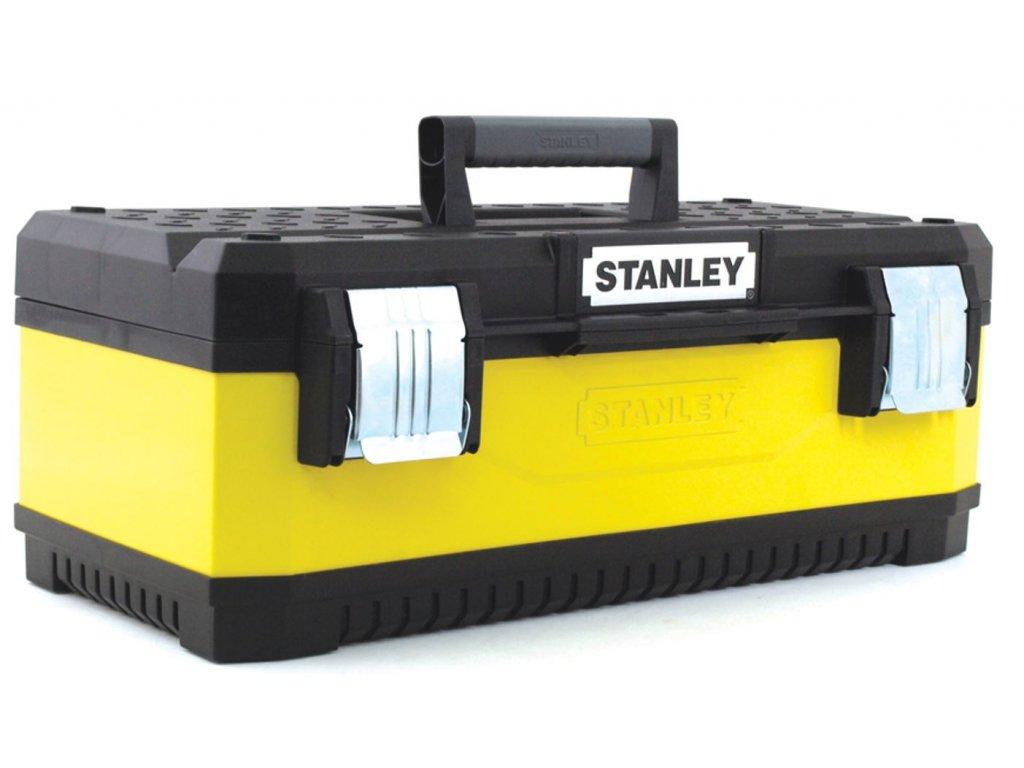 4968 1 95 612 stanley 50cm kovoplastovy box na naradi zluty