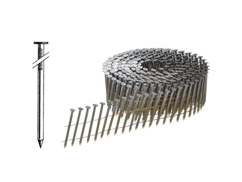 6042 bostitch f25064q fac hladke hrebiky ve svitku 2 5 x 64mm 9 000 ks
