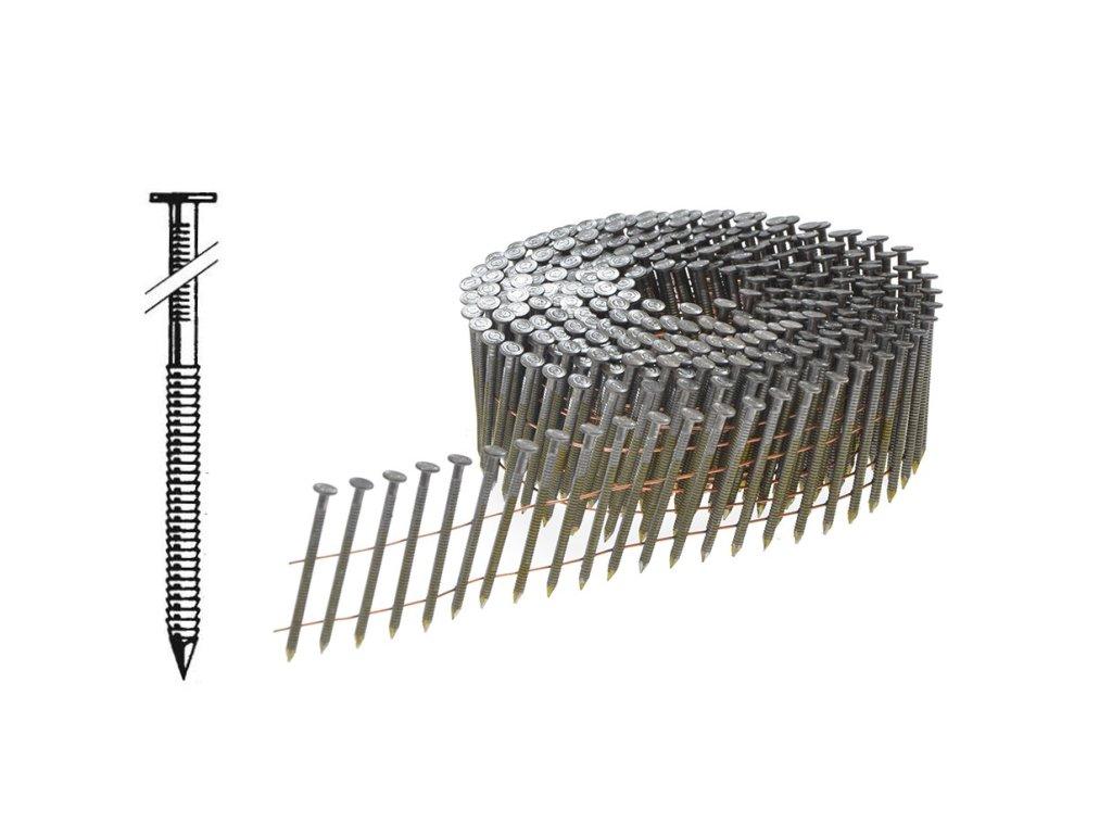 BOSTITCH FAC hřebíky konvex ve svitku Ø2,3 mm, délka 50-60 mm, 10 500 - 14 700ks (- F230R50Q hřebíky FAC - 50 mm konvex, 14 700ks)