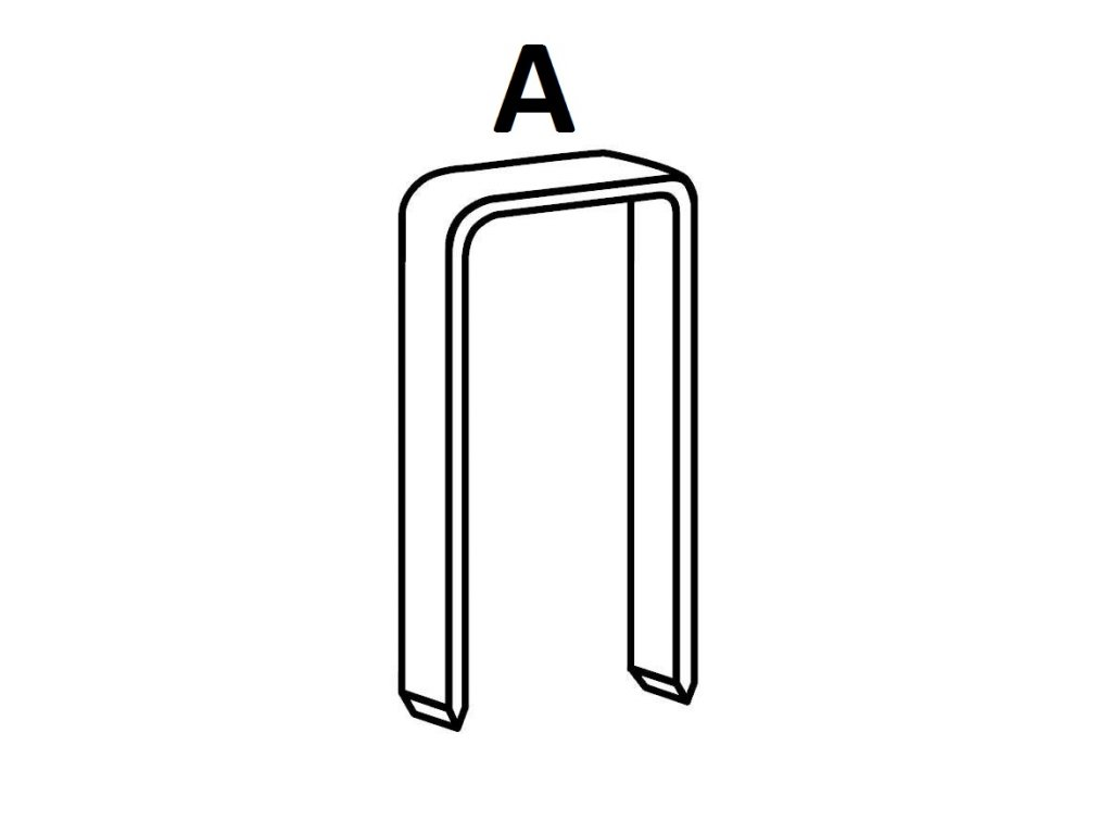 BOSTITCH kartonážní sponky A 15-18 mm, pozink 2000ks (D?lka 1331500Z spony A - 15 mm, pozink 2000ks)