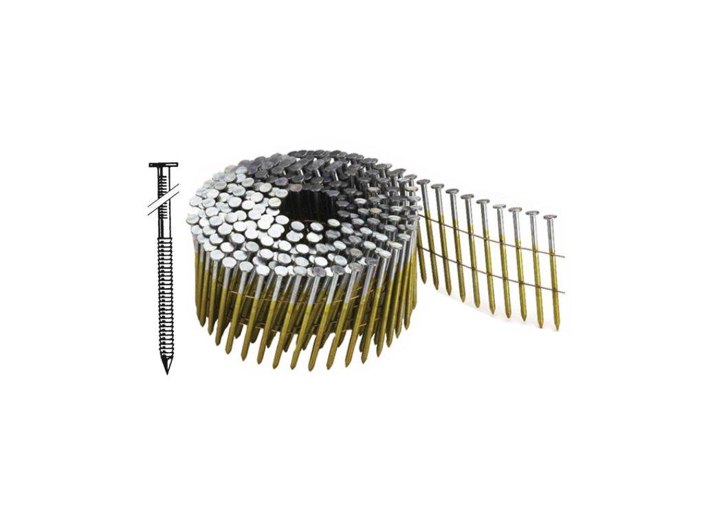 BOSTITCH N55 hřebíky konvex ve svitku Ø2,3 mm, délka 35-55 mm, 13 200 - 19 800ks (- N230R35Q hřebíky N55 - 35 mm konvex, 19 800ks)