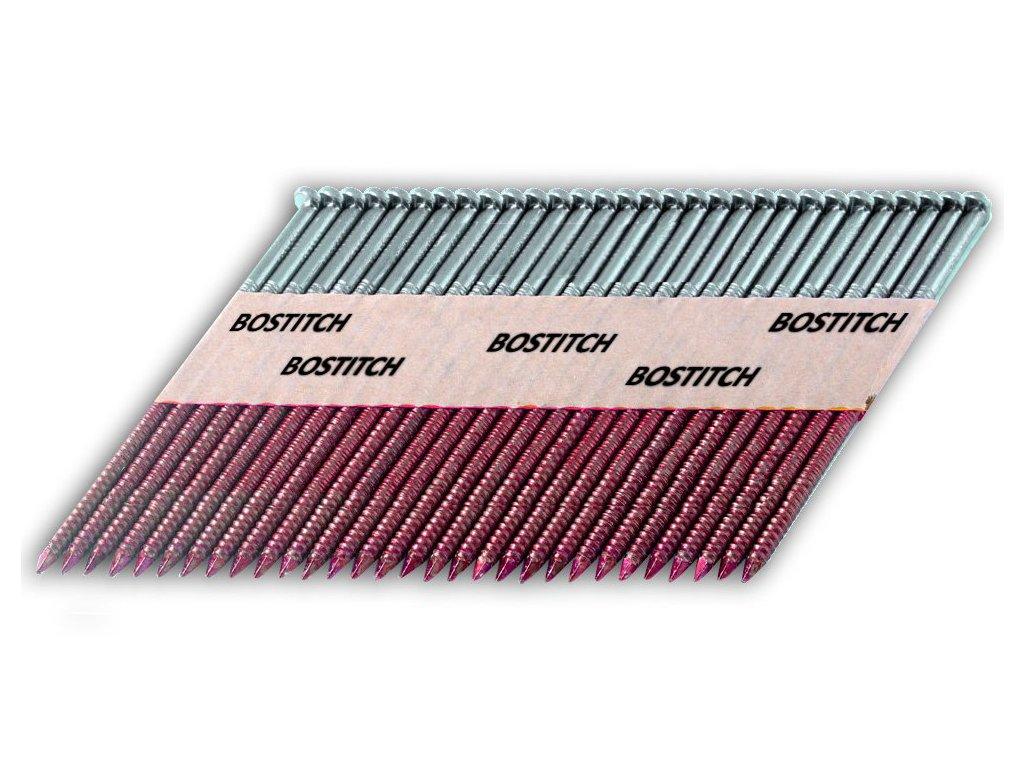 12281 bostitch pt28r63ss304 konvexni nerezove hrebiky pt 2 8 x 63 mm 1 100ks spojene papirovou paskou