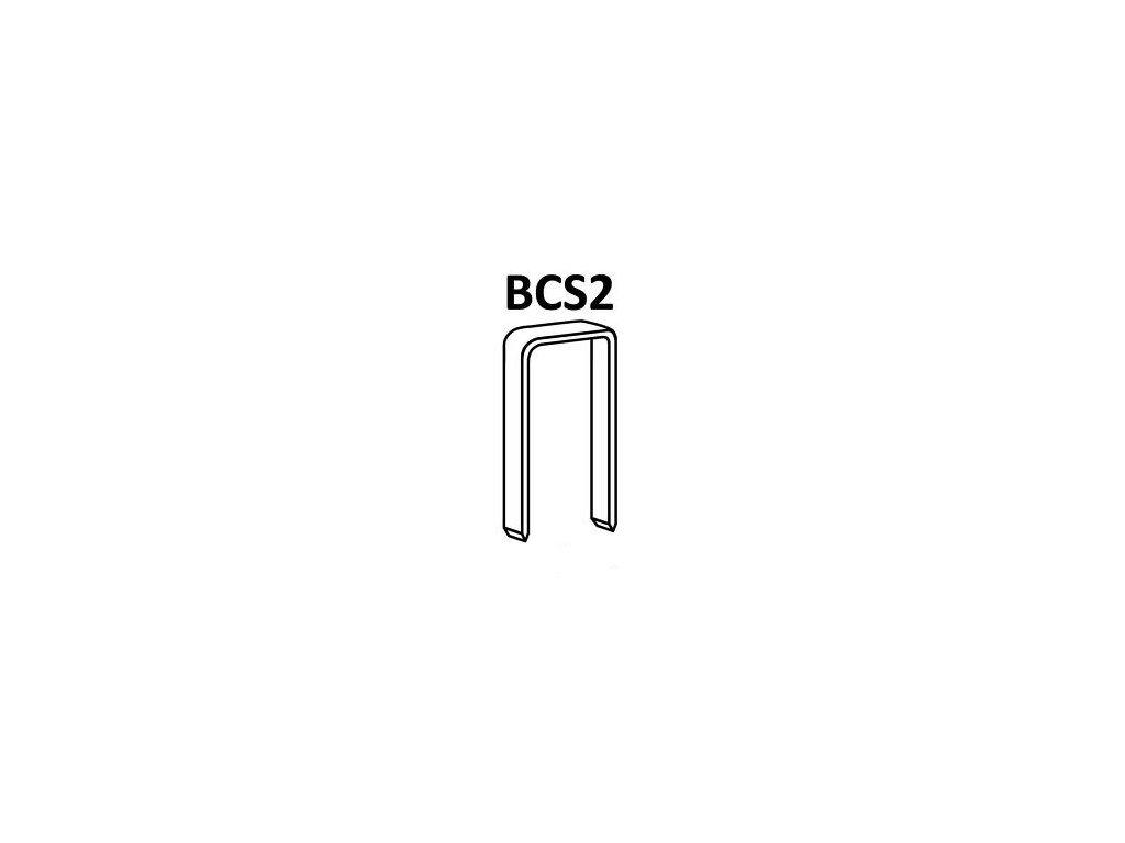 Bostitch spony BCS2 15-35 mm, pozink 8400 - 16800ks (D?lka 1191501Z spony BCS2 - 15 mm, pozink 16 800ks)