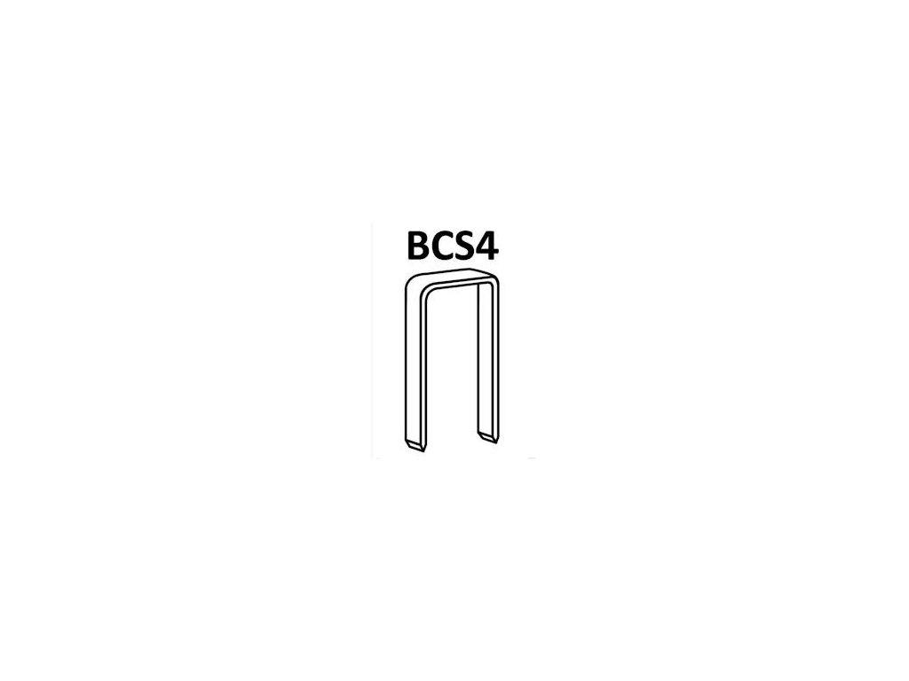 Bostitch spony BCS4 55-64 mm, pozink 10 000ks (D?lka 1165501Z spony BCS4 - 55 mm, pozink 10 000ks)
