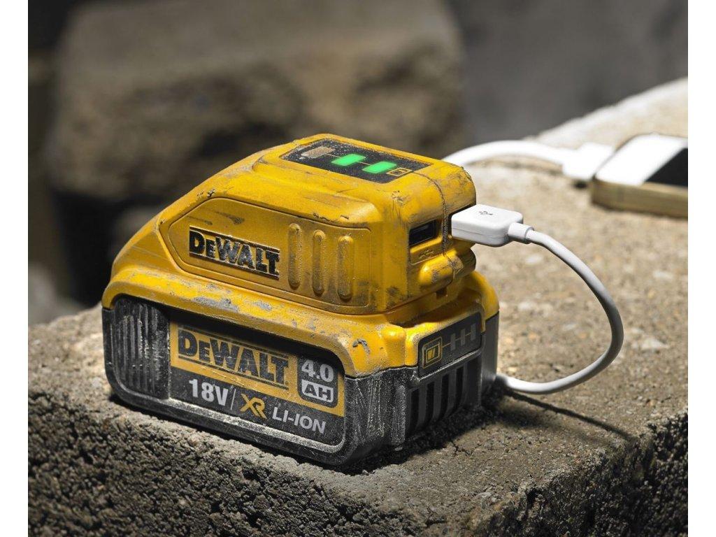 533 dcb090 dewalt adapter usb nabijeni pro xr baterie 10 8 18volt