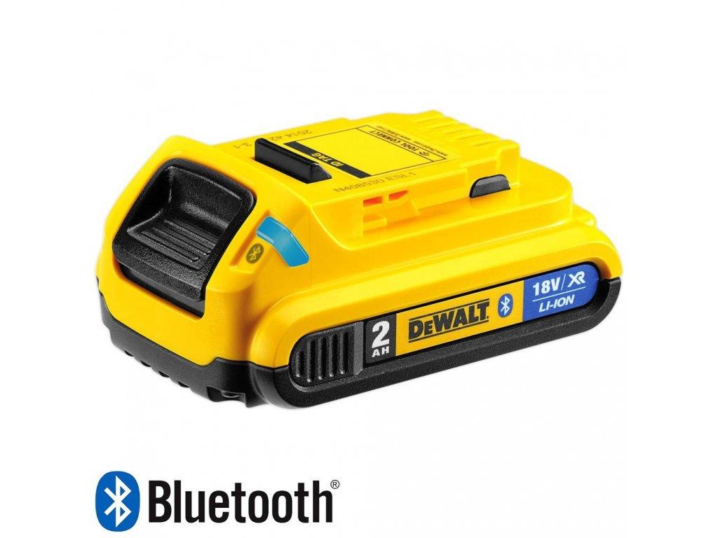 1484 dcb183b dewalt bluetooth nasunovaci baterie 18 v xr li ion s kapacitou 2 0 ah