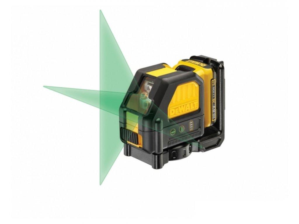 1434(6) dce088d1g dewalt aku krizovy laser 10 8volt 2 0ah zeleny paprsek