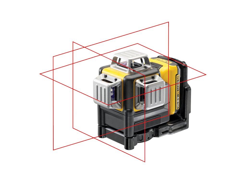 1437(2) dce089d1r dewalt aku krizovy laser 10 8volt 2 0ah cerveny paprsek
