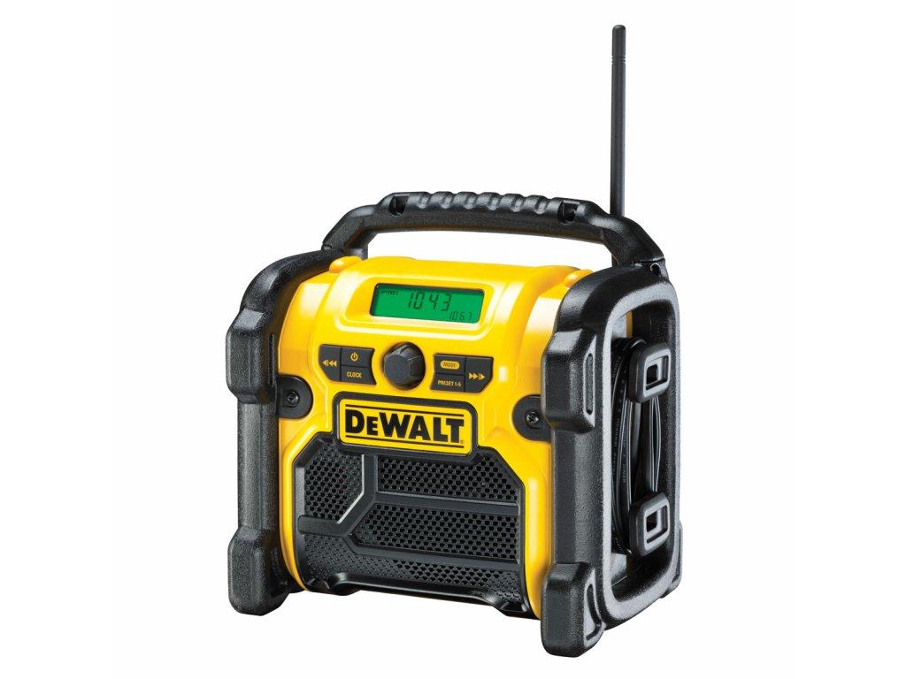 2695 dcr019 dewalt aku radio 10 8 18 v 220v aux vstup
