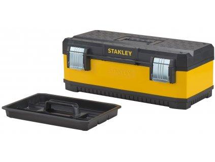 4971 1 95 613 stanley 58cm kovoplastovy box na naradi zluty