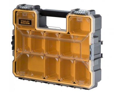 975 1 1 97 518 stanley fatmax profesionalni vodeodolny organizer s kovovymi prezkami hluboky