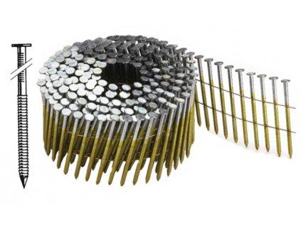 BOSTITCH N55 hřebíky konvex ve svitku Ø2,03 mm, délka 25-55 mm, 17 500 - 31 500ks (- N203R25Q hřebíky N55 - 25 mm konvex, 31 500ks)