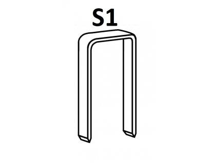 Bostitch spony S1 75-130 mm, pozink 1280-2160ks (D?lka S1-75G12 spony S1 - 75 mm, pozink 2160ks)