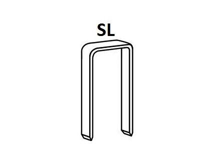 Bostitch spony SL 15-40 mm, pozink 3000 - 5000ks (D?lka SL503535Z spony SL - 35 mm, pozink 3 000ks)