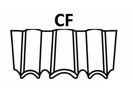 Bostitch vlnovce CF 10-15 mm, pozink 900-1500ks (D?lka 1221000E vlnovce CF - 10 mm, pozink 1500ks)