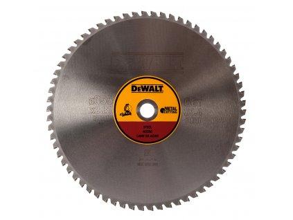 3283 1 dt1926 dewalt pilovy kotouc 355x25 4mm 66zub ocel pro dw872