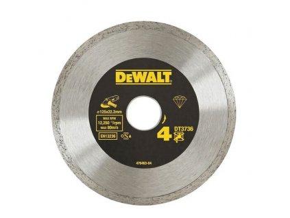 1527 dt3736 dewalt diamantovy laser kotouc na obklady a dlazbu 125x22 2mm
