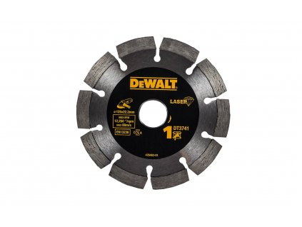 1518 dt3741 dewalt laser kotouc pro stavebni materialy beton pro suche rezani 125x22 2mm