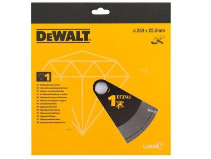 1520 dt3743 dewalt laser kotouc pro stavebni materialy beton pro suche rezani 230x22 2mm