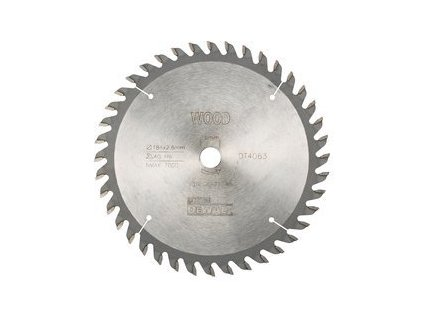 564 dt4063 pilovy kotouc dewalt 184x16mm 40zubu atb 10 pro univerzalni rez