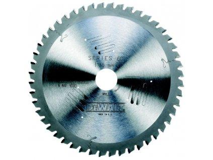 1560 dt4097 dewalt pilovy kotouc 235x30mm 56 zubu tcg 5 dyha laminat hlinik
