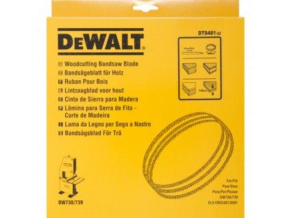 2311 dt8481 dewalt univerzalni pilovy pas sirka 12mm
