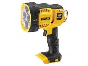 DCL043 DeWALT Výkonná LED aku svítilna 18Volt, 1 000 Lm , bez baterie a nabíječky