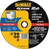 DT43939 DeWALT Kotouč EXTREME pro řezání nerezi - plochý 230x22,2x1,9mm