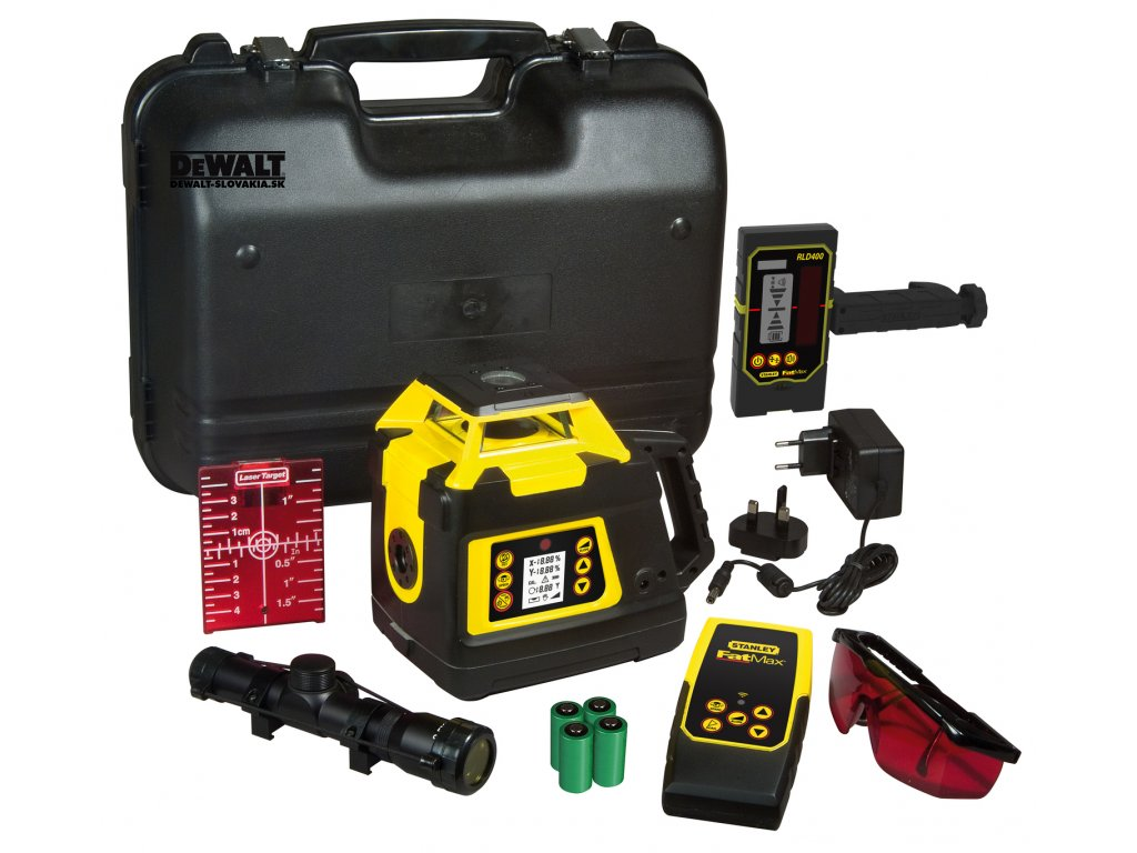 6738 1 1 77 439 stanley fatmax rl hgw samonivelacni rotacni laser pro exterier