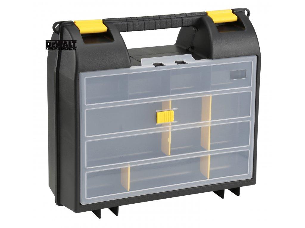 12455 1 92 734 stanley plastovy box na elektronaradi s organizerem