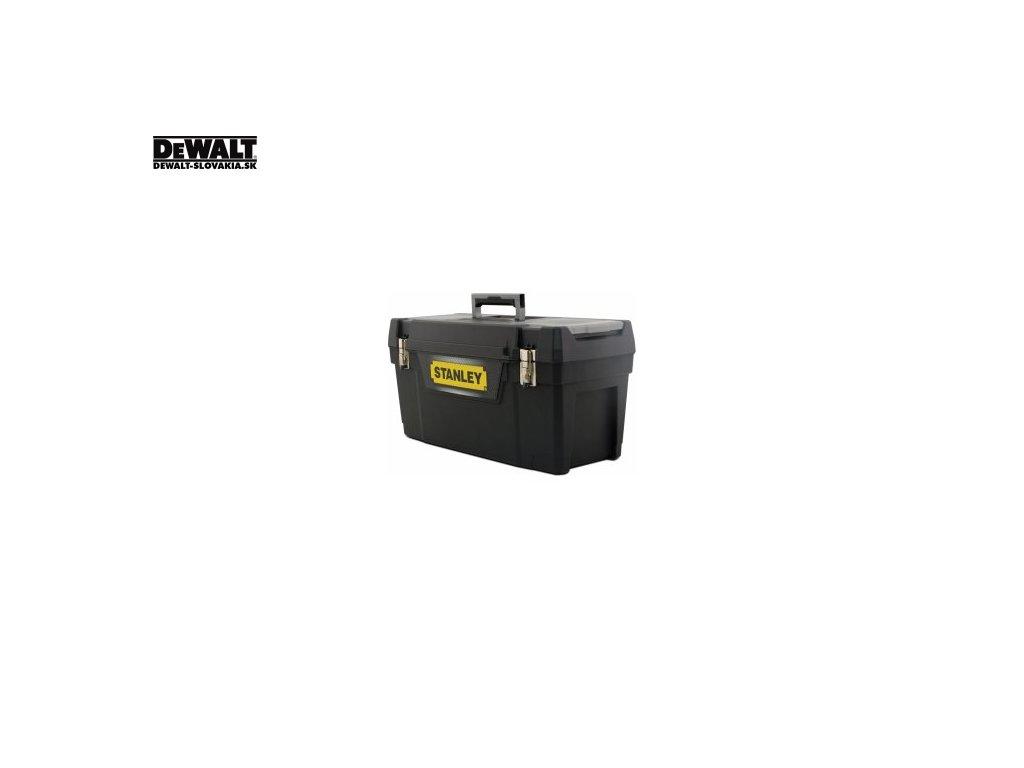 4989 1 94 859 stanley 64cm box na naradi s kovovymi petlicemi